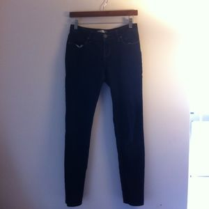 No Boundaries Dark Blue Skinny Lightweight Jeans